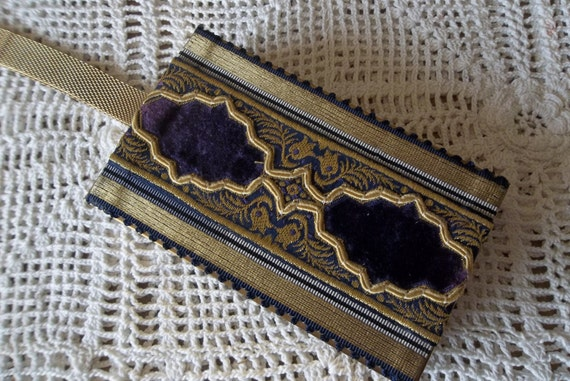 Wristlet  Clutch With  compact and cigarette case