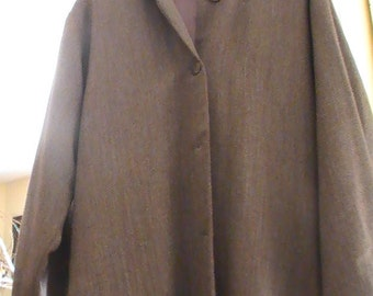 Amazing Vintage Woman's Duster Coat by Asiatica of Kansas City