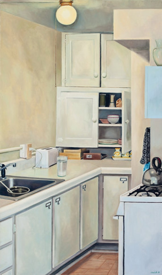 Madison Apt. 4 Kitchen, Limited Edition Fine Art Print