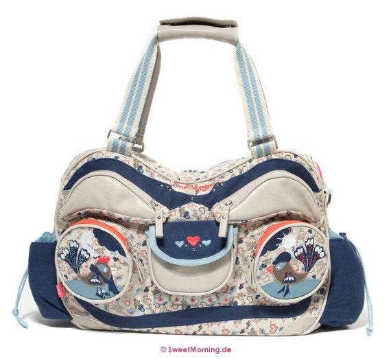 Designer Baby changing bag - Radio Ga Ga by Sweet Morning   - summer 2012 - baby nappy bag