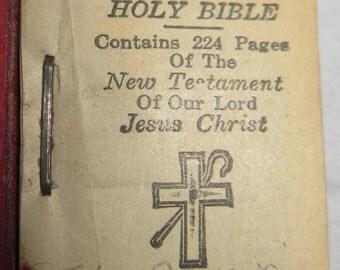 1930s mini Bible
