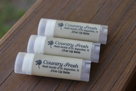 All-Natural Lip Balm 3-pack
