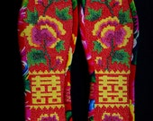 Cross-stitch insole-Blooming flowers