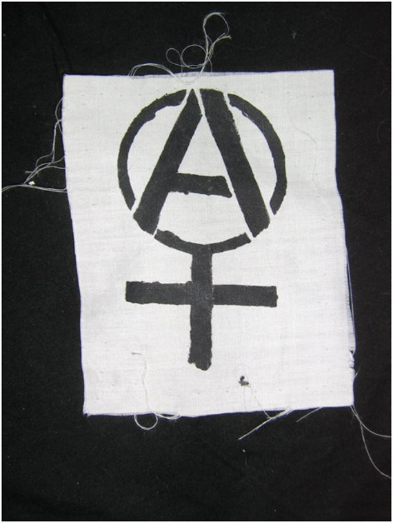 Anarcha Feminist Patch
