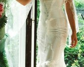 Romantic Alternative Sexy White Wedding Gown with Mermaid Skirt - Lucia