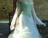 Fairy Princess Corseted Ball or Alternative Wedding Gown - Ariadne.