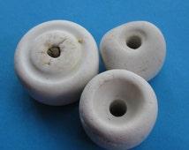 Ceramic Insulators, Sea Glass, Beach Combed, Genuine, Art Supply