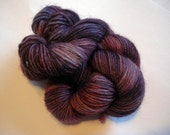 Blackberries - 50 g Hand Dyed Fingering Wool