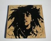 Bob Marley art/sign