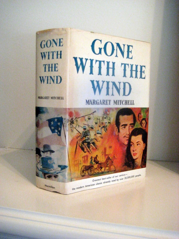 Vintage Book Gone With The Wind By Margaret By