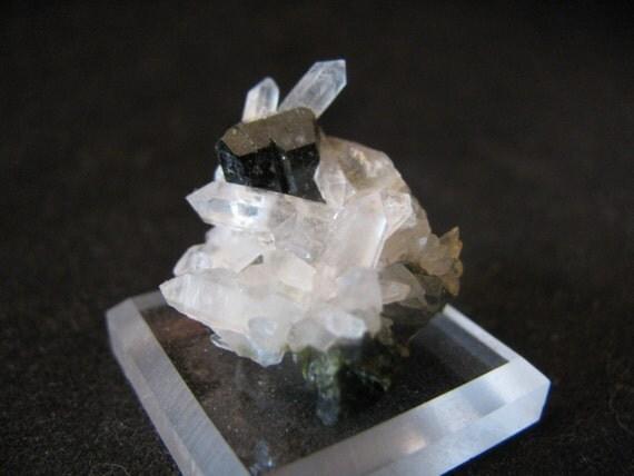 Mineral Specimen - Epidote, Quartz - Green Monster Mine, Prince of Wales Island, Alaska