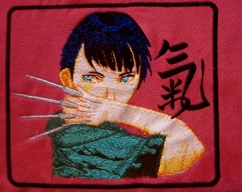 """Patch Embroidered  Anime  Military  5 3/4"""""""
