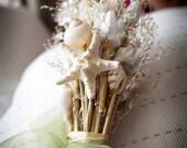 Destination Beach Wedding Seashell Bridal Bouquet