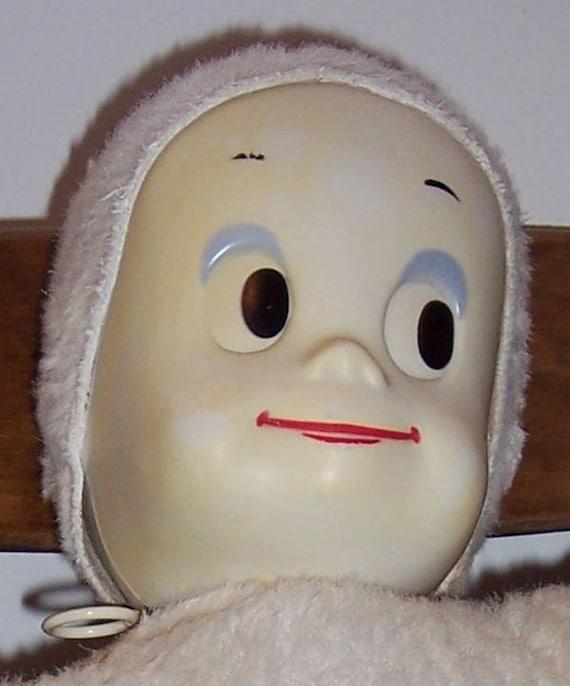 Vintage Mattel Casper talking doll works