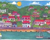 Charlotte Amalie Print
