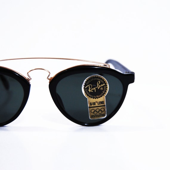 Vintage Ray Ban Sunglasses.  Bausch and Lomb Gatsby Style 3 W 1530 Aviators.