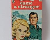 Vintage Harlequin Romance book 1965 retro romance coral cover