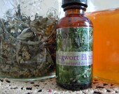 Mugwort Elixir: Herbal Tincture to Invoke Vivid Dreams & Lucid Dreaming, and Connect with the Moon with Honey and Brandy