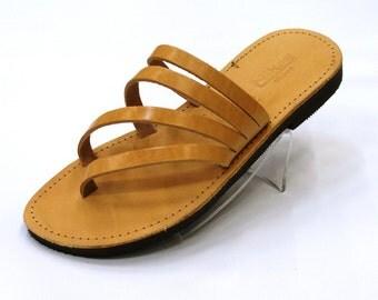 Summer Wave Handmade Leather Sandals