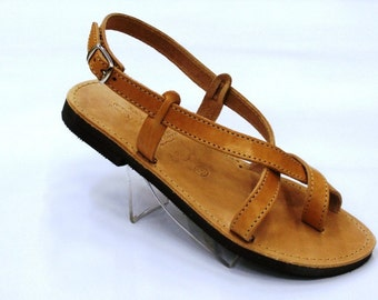 Leather sandals summer style