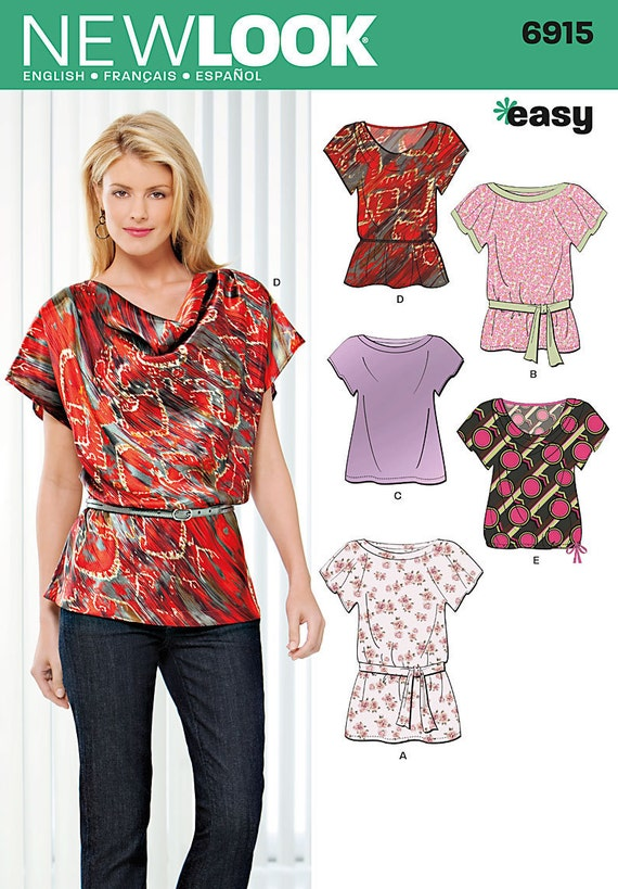 Sewing Patterns Tops Easy Sewing Pattern Tops Summer