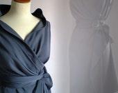 Wrap dress by FedRaDD on Etsy
