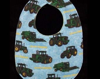 Baby Bib JD Tractor, BB035