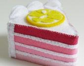 Layers of Love Mother's Day Mini Felt Cake Slice Pincushions