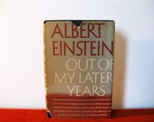 Out Of My Later Years, Albert Einstein, 1st edition 1950