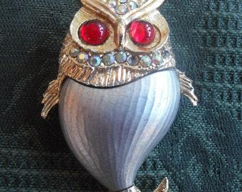 owl brooch    ECS