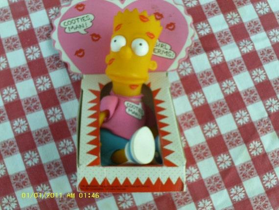 Bart Simpson Doll,   Cooties, Man  ECS