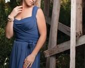 ANASTASYA Model - Winding Dress