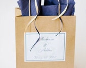Personalized Out Of Town Welcome Bags
