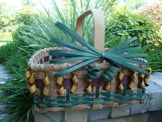 10X12 Sunflower Market Basket