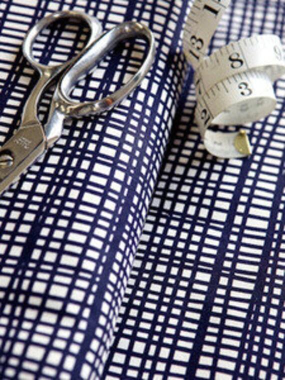 Ruta Navy Fabric - Lotta Jansdotter - Echo