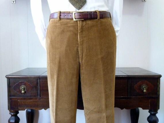 4 Wale Corduroy Pants