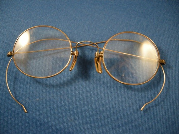 Eye glasses circa 1904