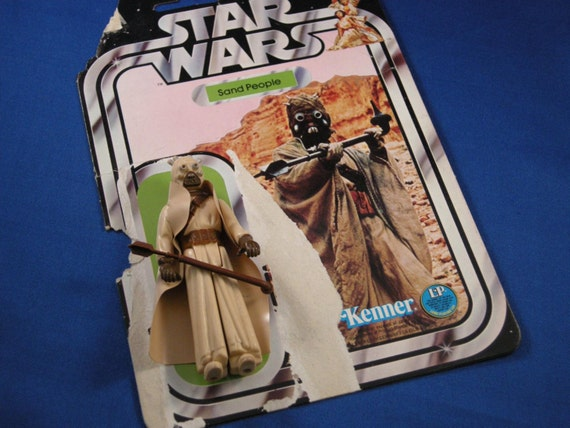 """Star Wars - Tusken Raider (Sand People) with the """"12"""" Card Back"""