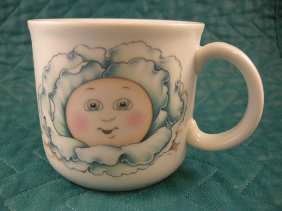 Cabbage Patch Kids Cup Royal Worcester Fine Porcelain 1984