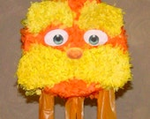 Dr. Seuss The Lorax Head Birthday Party Pinata Pull String or Hit PINATA
