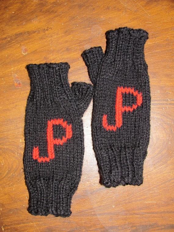 Jurassic Park Logo Wrist Warmers