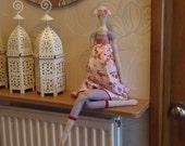 XL Sitting doll