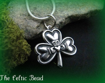 Beautiful Sterling Silver Celtic Irish Knot By Thecelticbead