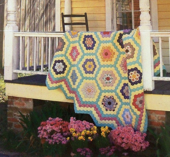 Grandmother 39 S Flower Garden Quilt Pattern
