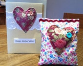 Mothers Day Card & Lavender bag gift set (different sets to choose from)