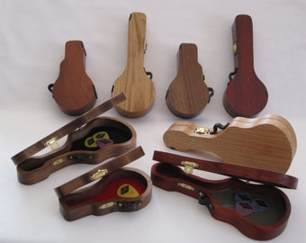 Pick Cases shaped like Guitars, Banjos & Mandolins