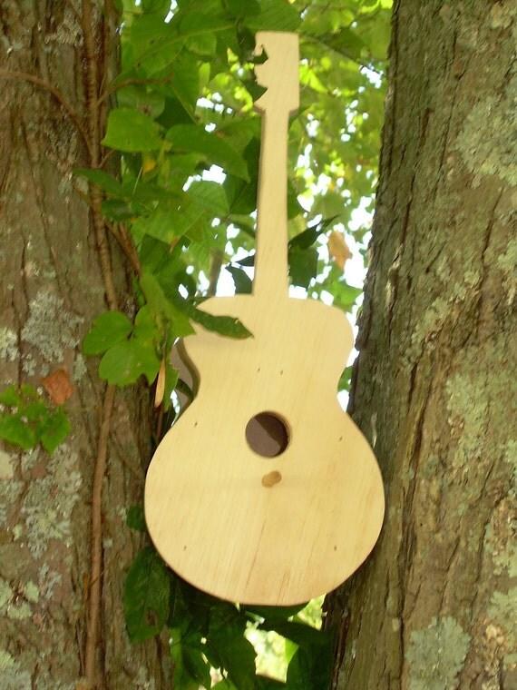 Instrument Bird House For Small Song Birds By Lureofcripplecreek
