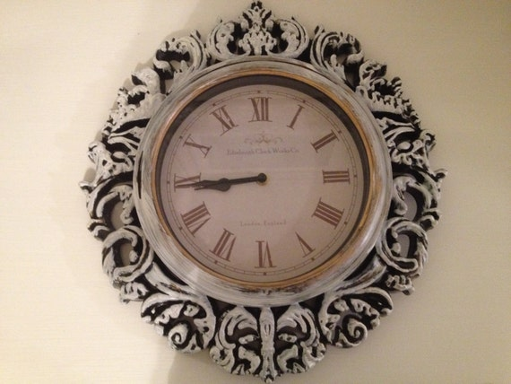 Large Shabby Chic Clock