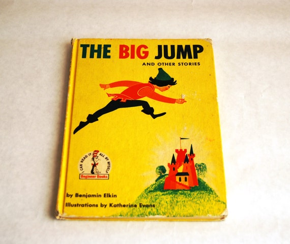 Vintage Children's Book, The Big Jump and Other Stories 1958 Elkin