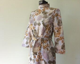Vintage 1960's Dress / Small/Medium Dress / Prom Dress / Vintage Wiggle Dress